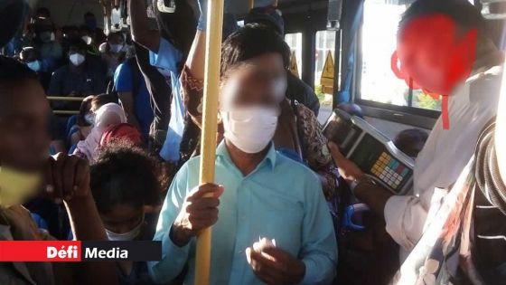 Covid-19 : la police affirme qu'elle sera intransigeante dans les autobus