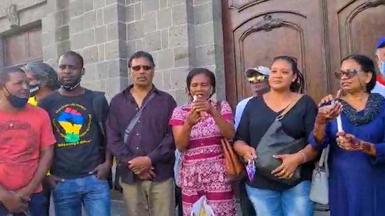 Christiane Calice : «Kisanla inn donn lord pou ferme nou legliz ?»