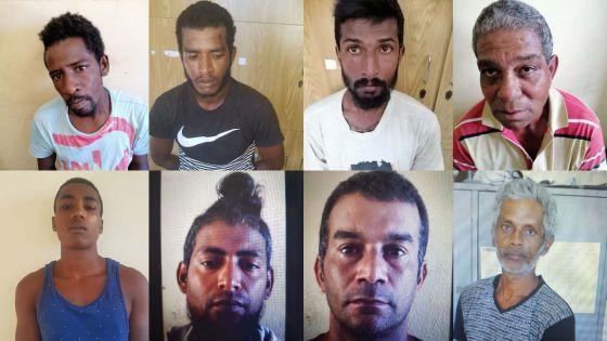Opération policière : 25 suspects arrêtés pour divers délits, dont le chanteur Don Panik