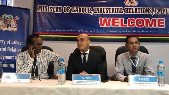Soodesh Callichurn : «Accompagner les demandeurs d'emploi jusqu'à ce qu'ils obtiennent un travail»