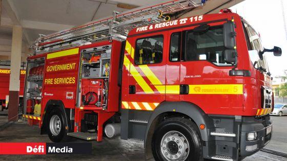 Forest-Side : incendie dans un supermarché, des marchandises valant Rs 500 000 partent en fumée