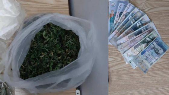 Un membre de la SMF arrêté avec Rs 1,3 million de cannabis