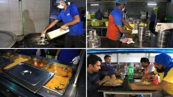 Protestation sur la qualité du riz : les responsables de Larsen and Toubro inspectent la cuisine et la cantine de Richelieu