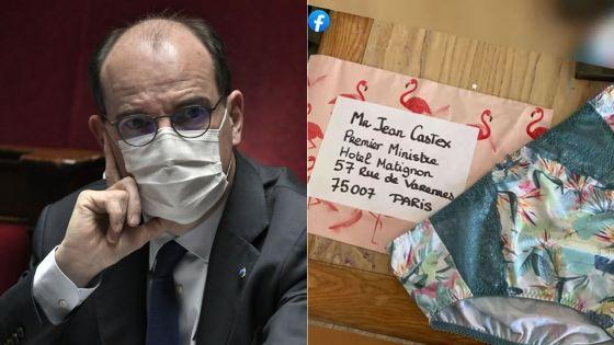 France : des petites culottes pour sensibiliser le Premier ministre Jean Castex au sort de certains commerces