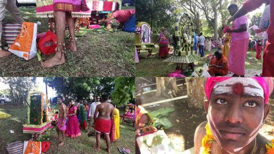 [En images] Le Thaipoosam Cavadee célébré dans la ferveur