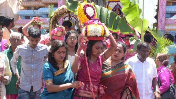 Thaipoosam Cavadee : le jeûne débute ce mardi