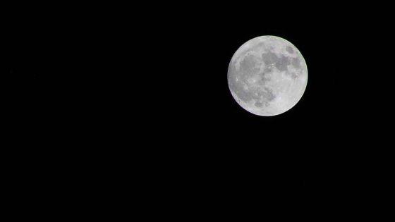 Astronomie : la super lune sera visible ce mardi soir dans le ciel mauricien