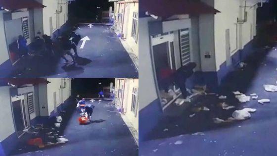 Dream Price de Vallée-des-Prêtres : le pillage capturé par une caméra CCTV