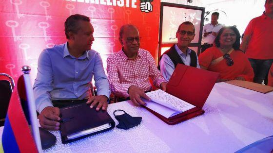 Comité exécutif élargi du PTR : Ramgoolam répond aux questions de la presse
