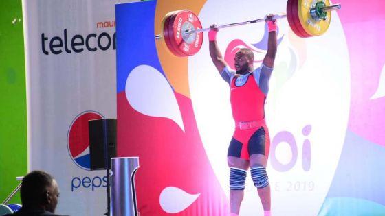 JIOI – Haltérophilie hommes : Maurice rafle six médailles d'or et trois d'argent