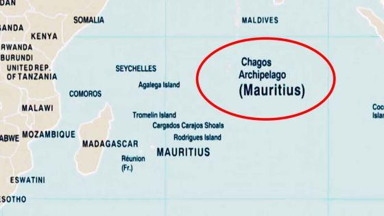 Chagos apparaît comme un territoire mauricien sur la nouvelle carte du monde des Nations Unies