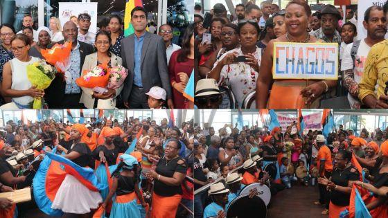 Sega tambour des Chagos au patrimoine culturel immatériel de l'Unesco : la délégation mauricienne accueillie en fanfare