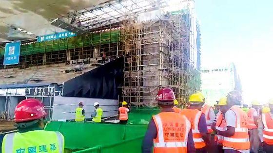Parlement : la PNQ axée sur l'accident du travail mortel survenu sur le chantier du complexe sportif de Côte-d'Or