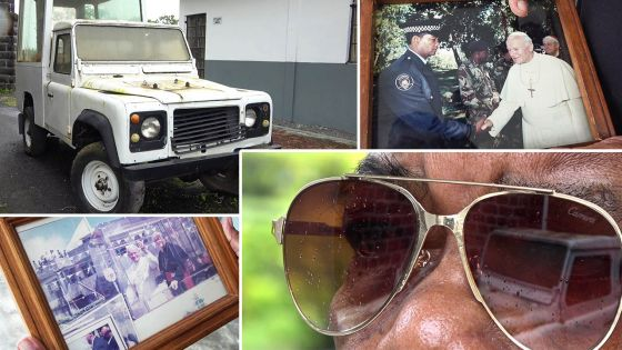 L'ex-policier Pulchérie : «Je suis fier d'avoir été le chauffeur du pape»