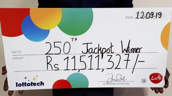 Loto : deux amis se partagent la cagnotte de Rs 11,5 millions