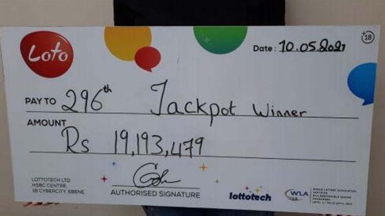Loto : une habitante des Plaines-Wilhems remporte Rs 19,1 millions