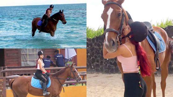 Shelina, l'équitation comme discipline de vie