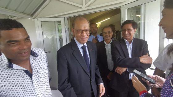 Politique : Mukeshwar Choonee quitte le PTr