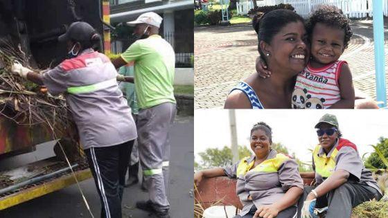 Femme éboueuse : Christine plaide pour la valorisation de son métier