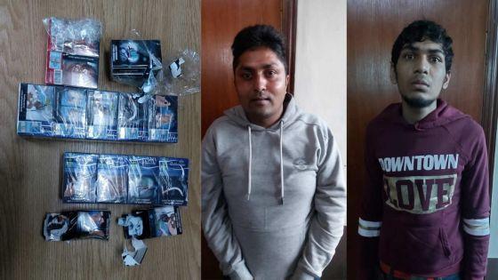 Les paquets de cigarettes livrés à une commerçante contenaient du macadam et du papier, deux suspects arrêtés