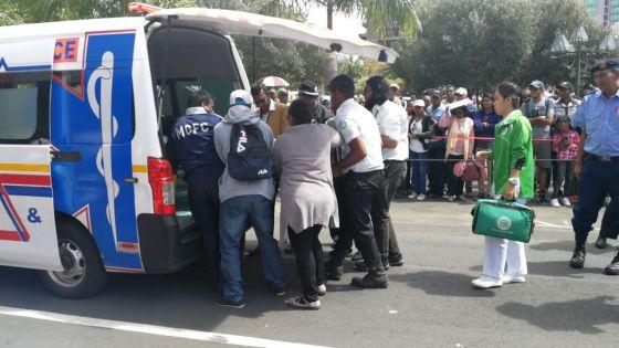 Prise d'un malaise : une policière décède devant la cathédrale Saint-Louis, à Port-Louis