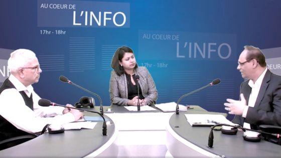 Au Coeur de l'Info: Mahen Seeruttun, Jean Claude de l'Estrac et Dan Maraye livrent leurs analyses sur le Budget 2019-20