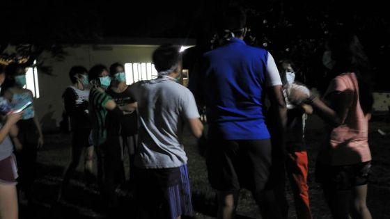 Centre de quarantaine d'Anse La Raie : cohabitation difficile entre ancienset nouveaux arrivants