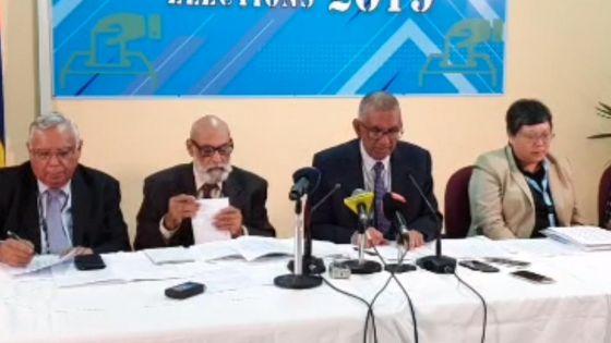 Taux de participation aux législatives 2019 : suivez en direct la conférence de presse de la Commission électorale