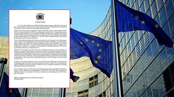 Liste noire de l'UE -Transactions transfrontalières : les autorités tentent une manœuvre auprès des banques étrangères