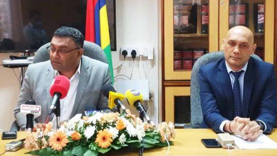 Suivez en direct la conférence de presse de Kailesh Jagutpal et Yogida Sawmynaden