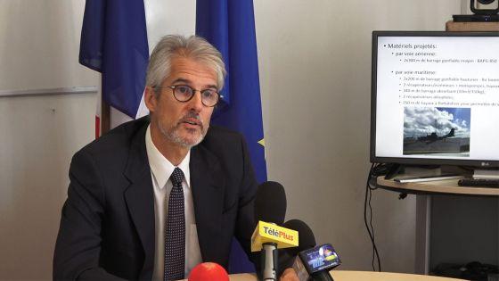 Wakashio : la France apporte son soutien à Maurice dans la lutte contre la pollution