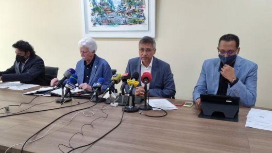 Conférence de presse de la Plateforme de l'Espoir