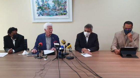 Suivez la conférence de presse de l'Alliance de l'Espoir