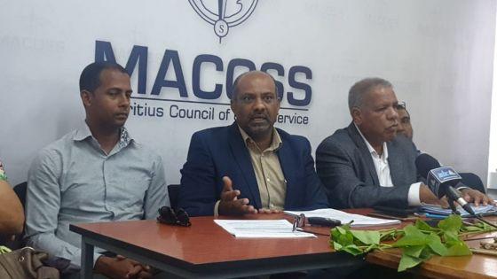 Macoss : « On ne peut mélanger la politique et le social », soutient Suraj Ray