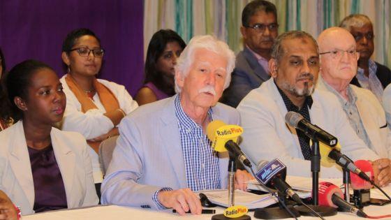 Les fuites sur le draft du jugement de l'affaire Medpoint agacent Paul Bérenger