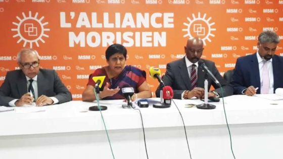 Suivez en direct la conférence du nouveau gouvernement de l'Alliance Morisien