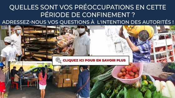 Point de communication et préoccupations des Mauriciens : adressez-nous vos questions à l'intention des autorités !