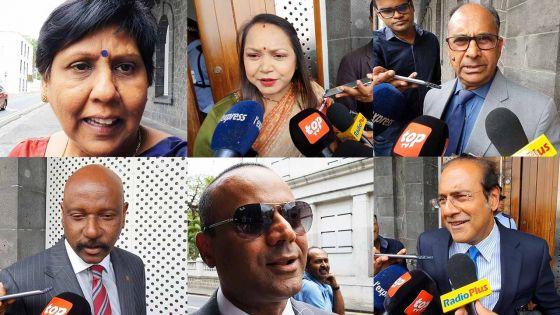 Premier Conseil des ministres du nouveau gouvernement : réactions des membres du nouveau cabinet