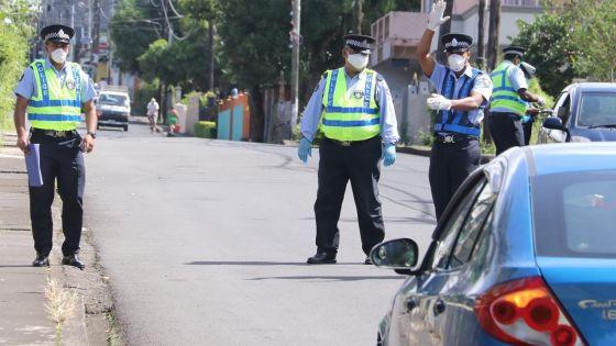 Non-respect du couvre-feu: 484 personnes verbalisées lundi