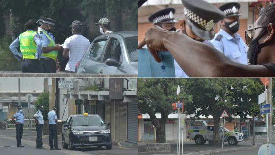 À Quatre-Bornes et à Port-Louis : contrôles routiers très stricts, ce dimanche