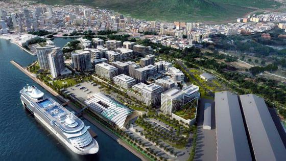 Cruise Terminal à Les Salines : Le chantier à nouveau l'arrêt