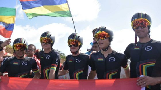 JIOI 2019 - Cyclisme : Maurice s'impose lors du contre-la-montre par équipes