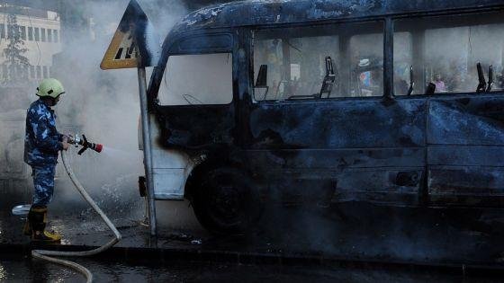 Syrie: 27 morts dans un attentat à Damas et des bombardements sur la zone rebelle