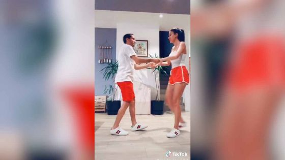 Le jockey David et son épouse sur TikTok : Wow they can really dance!