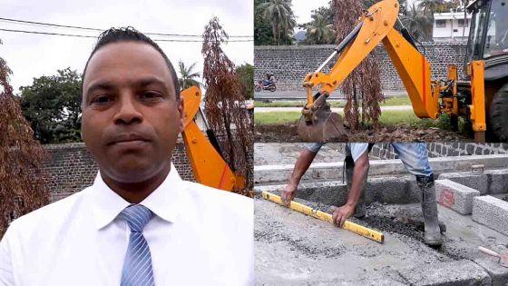 Relogement des marchands ambulants à Port-Louis : début des travaux