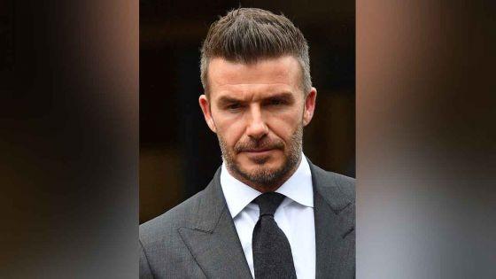 Téléphone au volant : Beckham condamné à six mois de suspension de permis