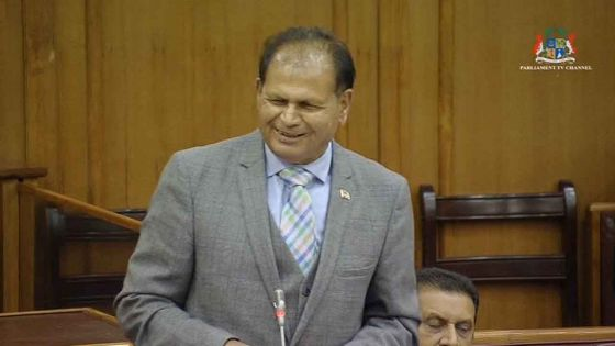 Débats Budgétaires 2019/2020 : «Nous faisons ce que le précédent régime n'a pas pu faire», selon Raj Dayal