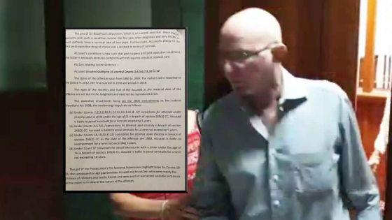[Document] Pédophilie : la cour a pris en considération l'état de santé de Michel de Ravel de l'Argentière