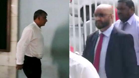 Blanchiment d'argent allégué : les notaires Vinay Deelchand et Ahmad Gopee arrêtés