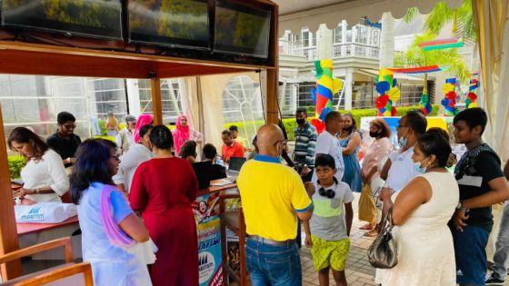 Road Show du Defi Deal au Bagatelle Mall : le concept Sun, Sand, Sea Road Show séduit les familles